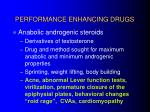 performance enhancing drugs18