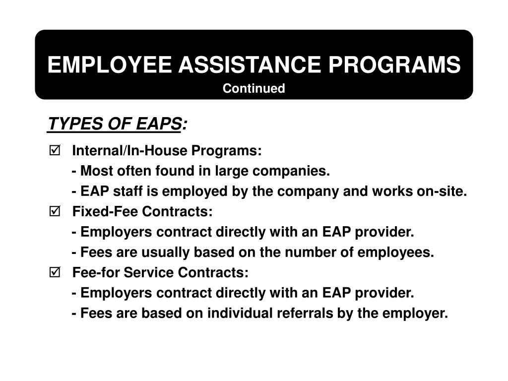 Internal/In-House Programs: