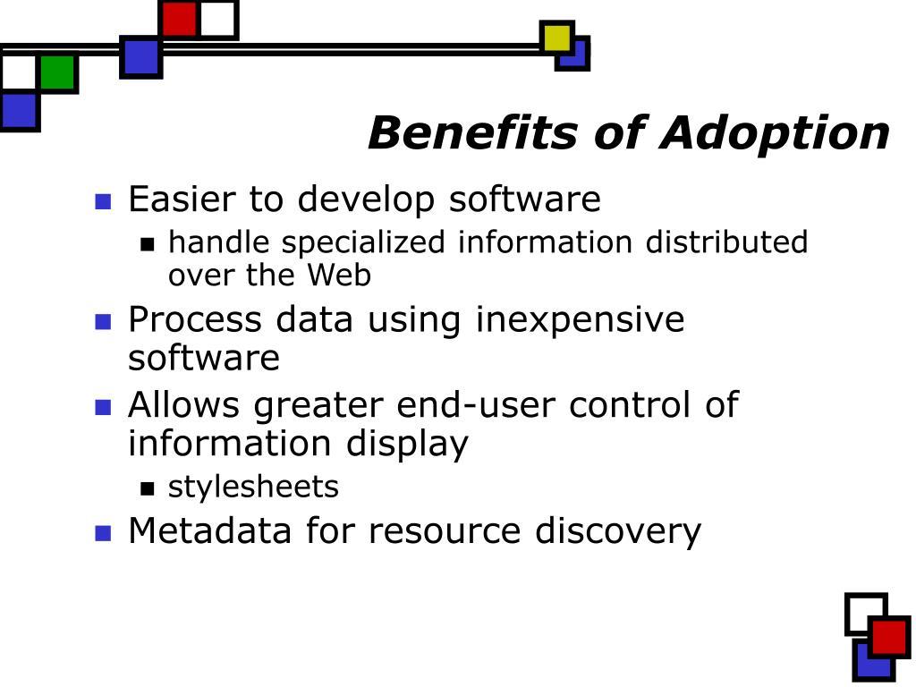 Benefits of Adoption