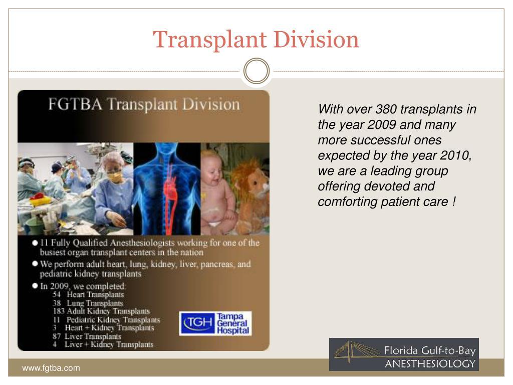 Transplant Division
