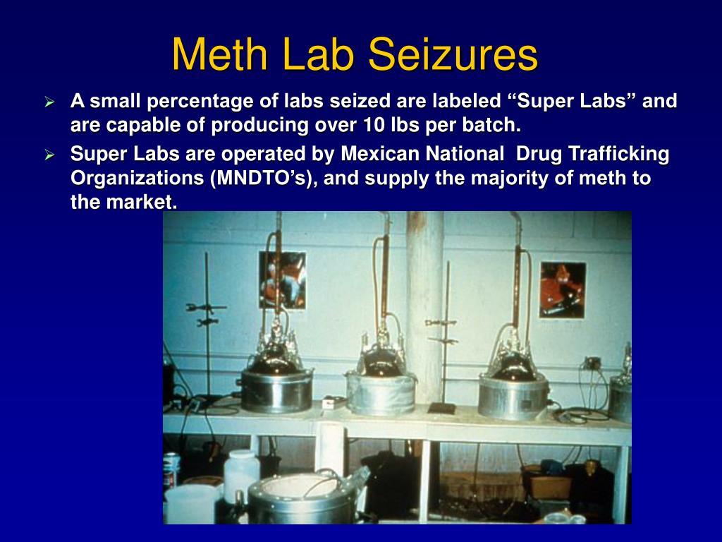 Meth Lab Seizures