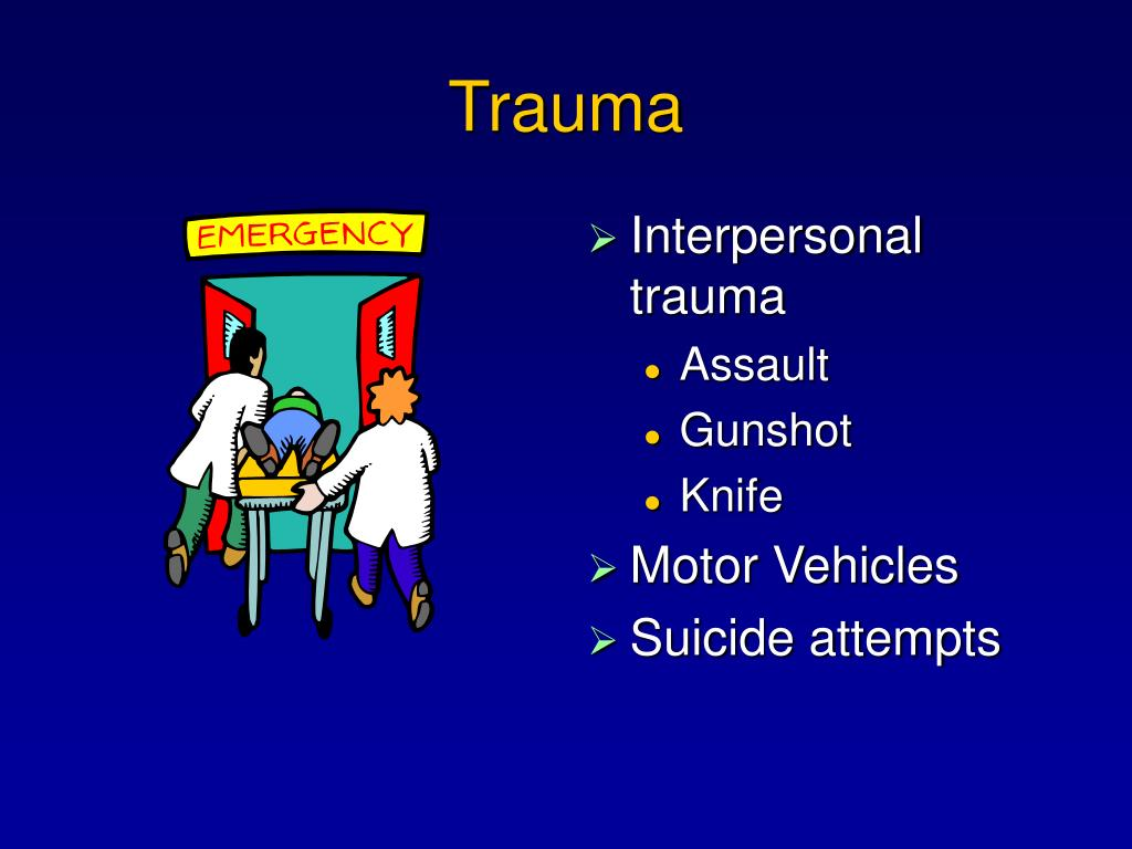 Interpersonal trauma