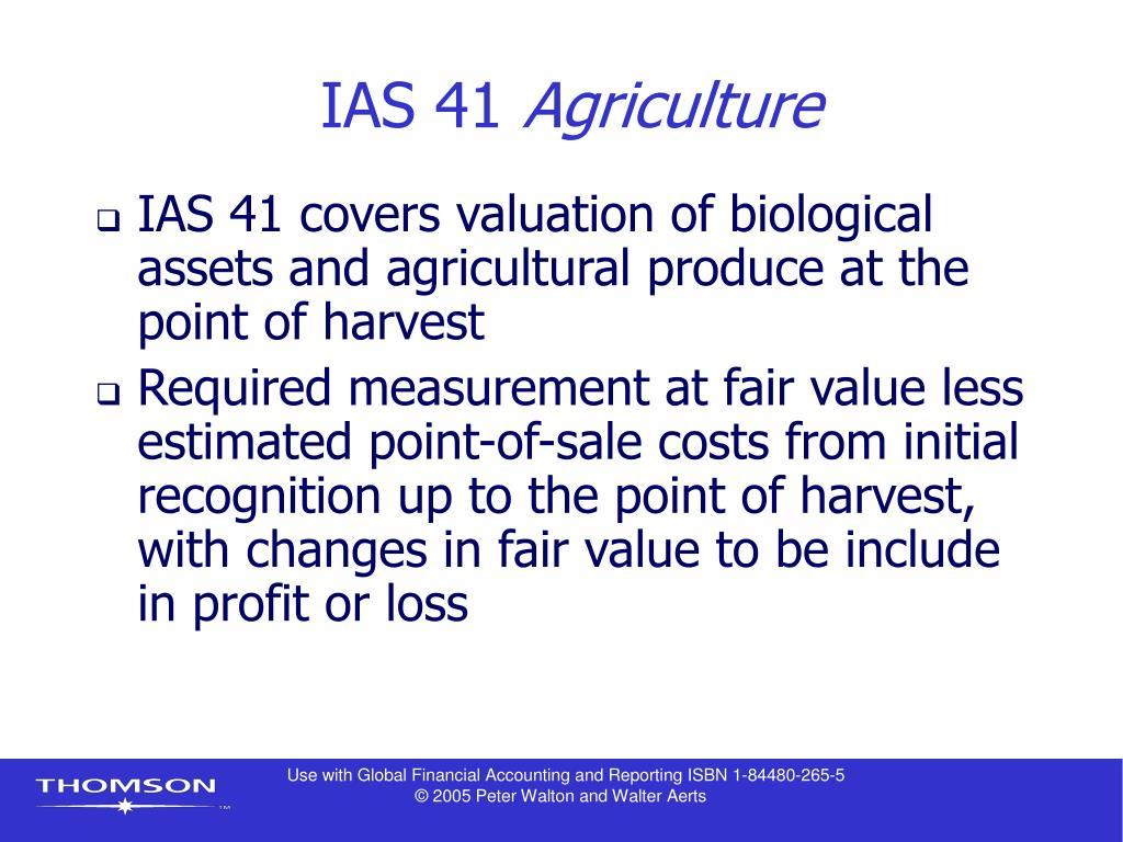IAS 41