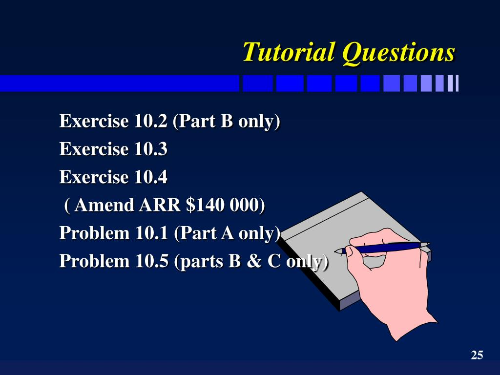 Tutorial Questions