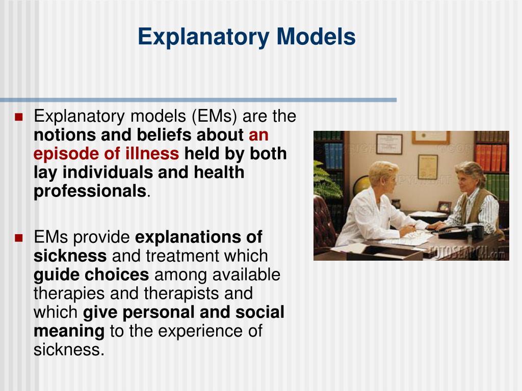 Explanatory Models
