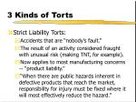 3 kinds of torts174