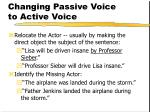 changing passive voice to active voice93