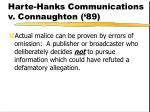 harte hanks communications v connaughton 89
