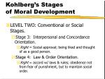 kohlberg s stages of moral development159