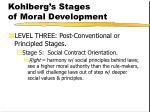 kohlberg s stages of moral development160