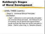 kohlberg s stages of moral development161