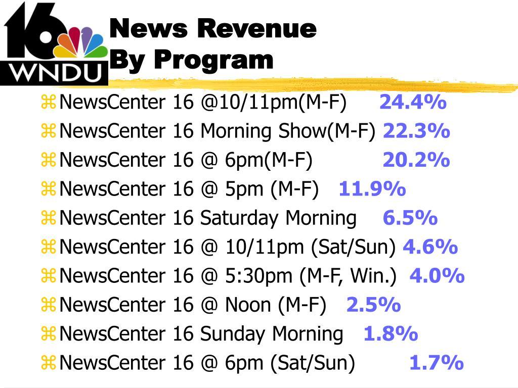 News Revenue