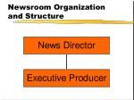 newsroom organization and structure22