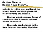 or how about a health news story54