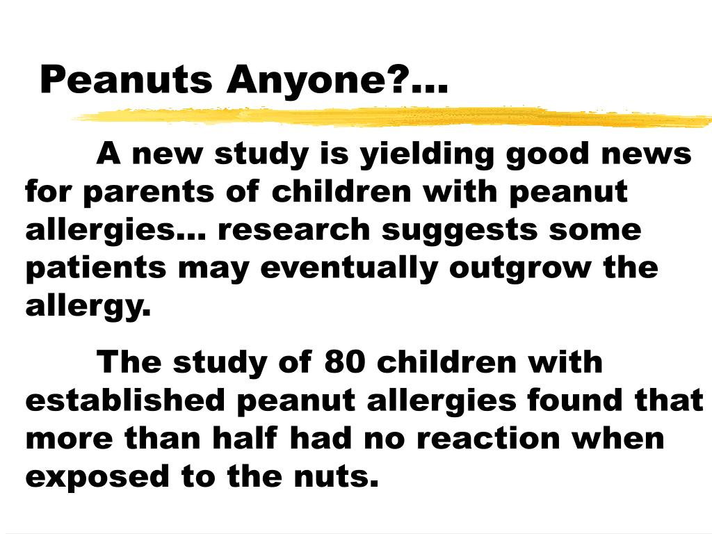 Peanuts Anyone?...