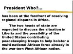 president who62
