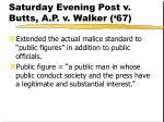 saturday evening post v butts a p v walker 67