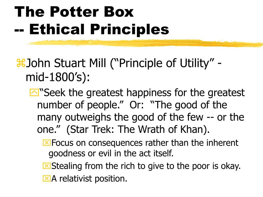 The Potter Box