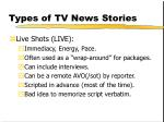 types of tv news stories130