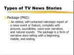 types of tv news stories202