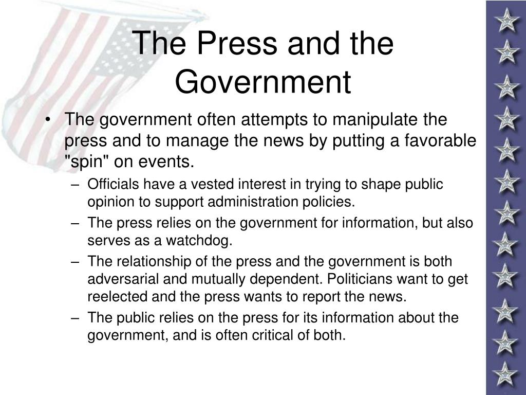 The Press and the Government