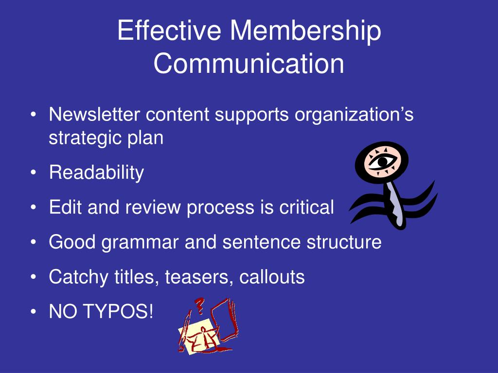 Effective Membership Communication