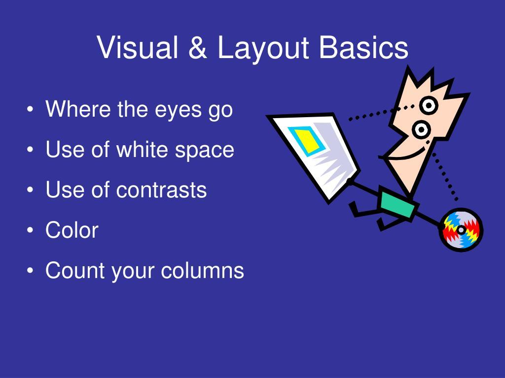 Visual & Layout Basics