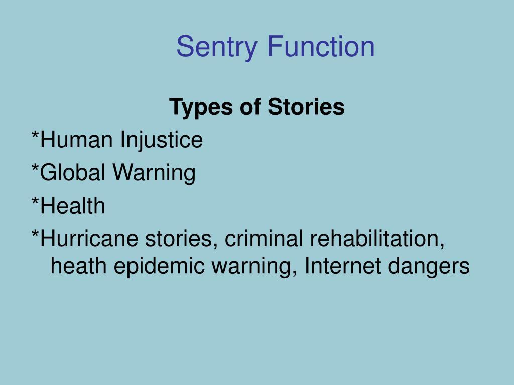Sentry Function