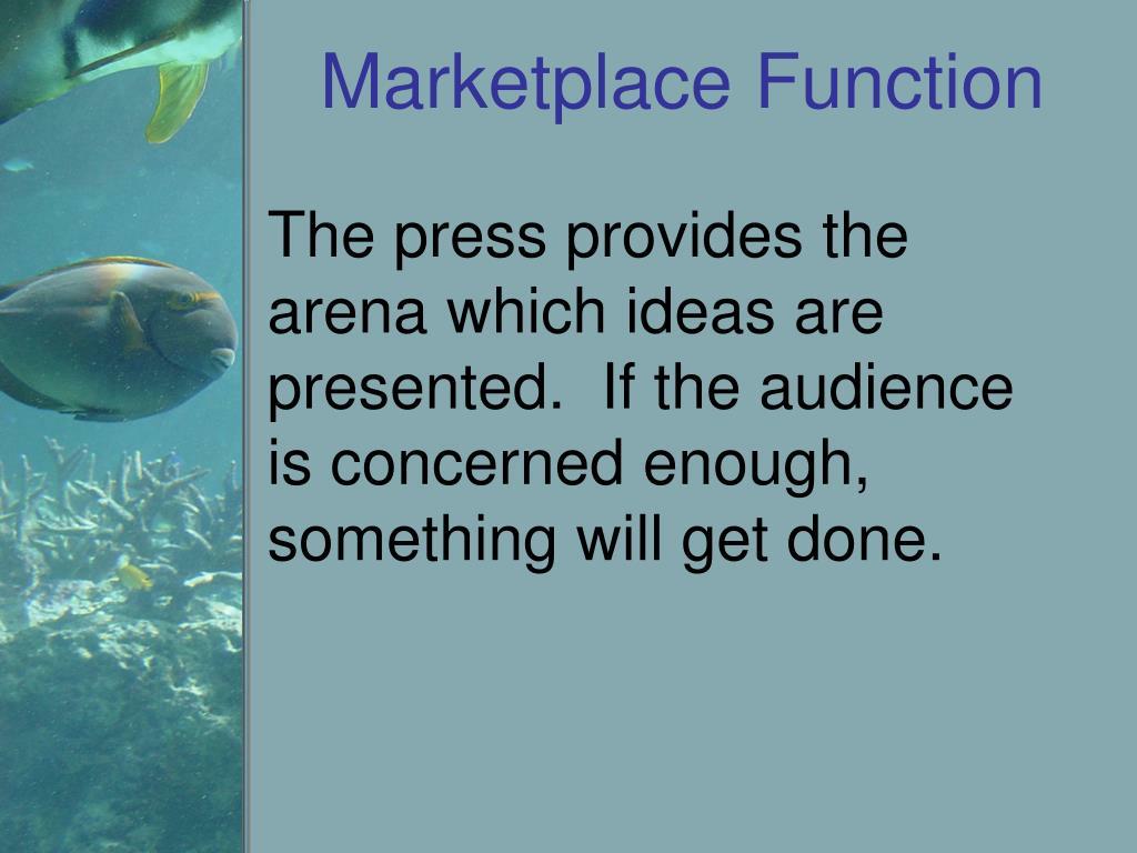 Marketplace Function