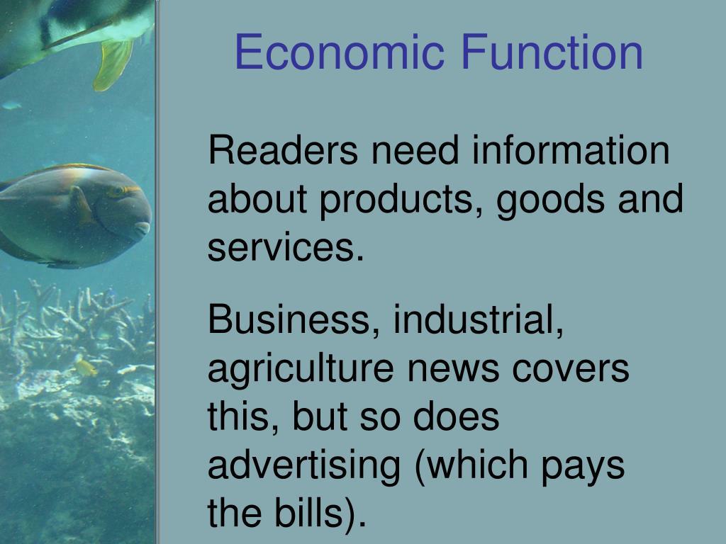 Economic Function