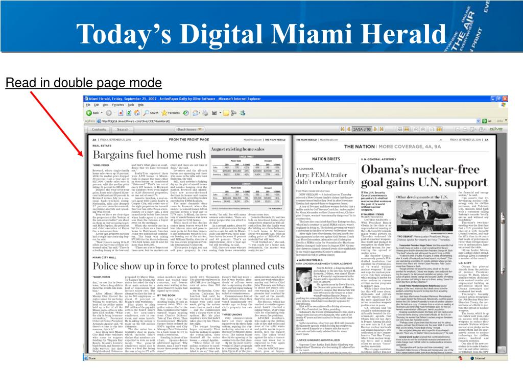 Today's Digital Miami Herald