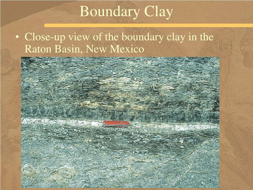 Boundary Clay