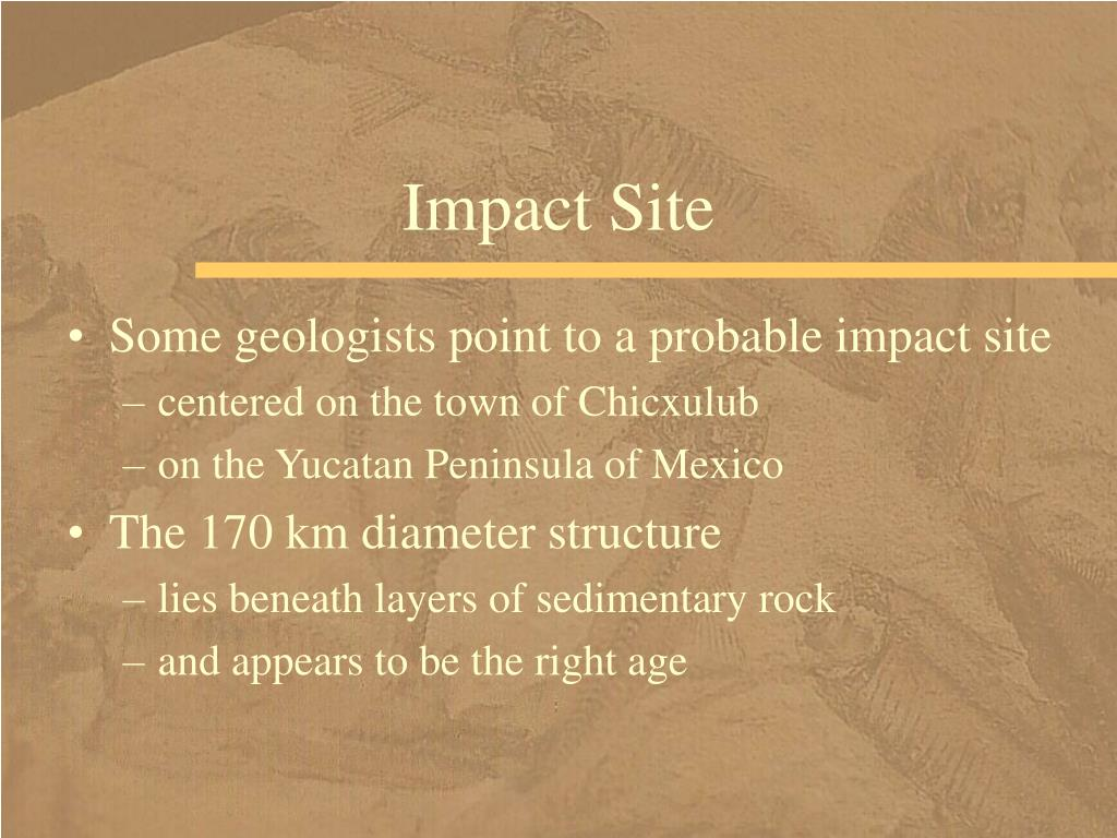 Impact Site