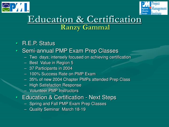 Education & Certification