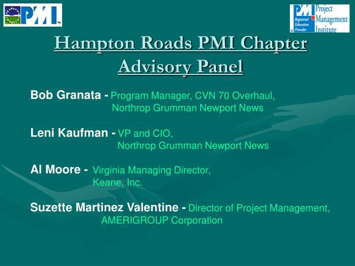 Hampton Roads PMI Chapter