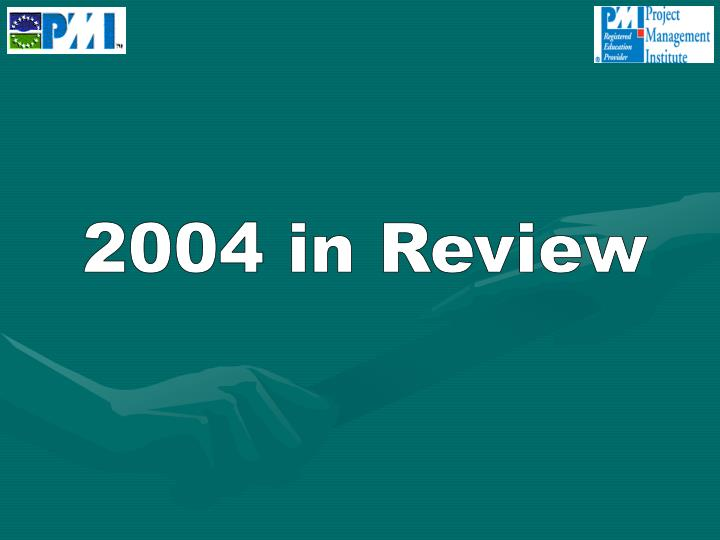 2004 in Review