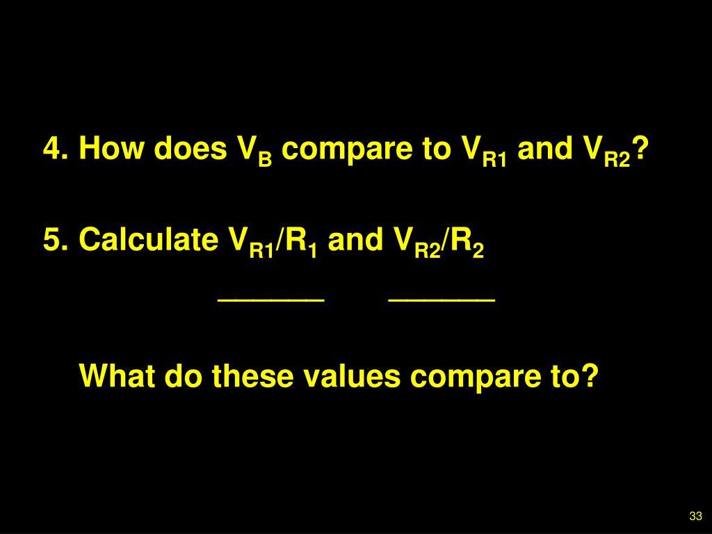 4.How does V