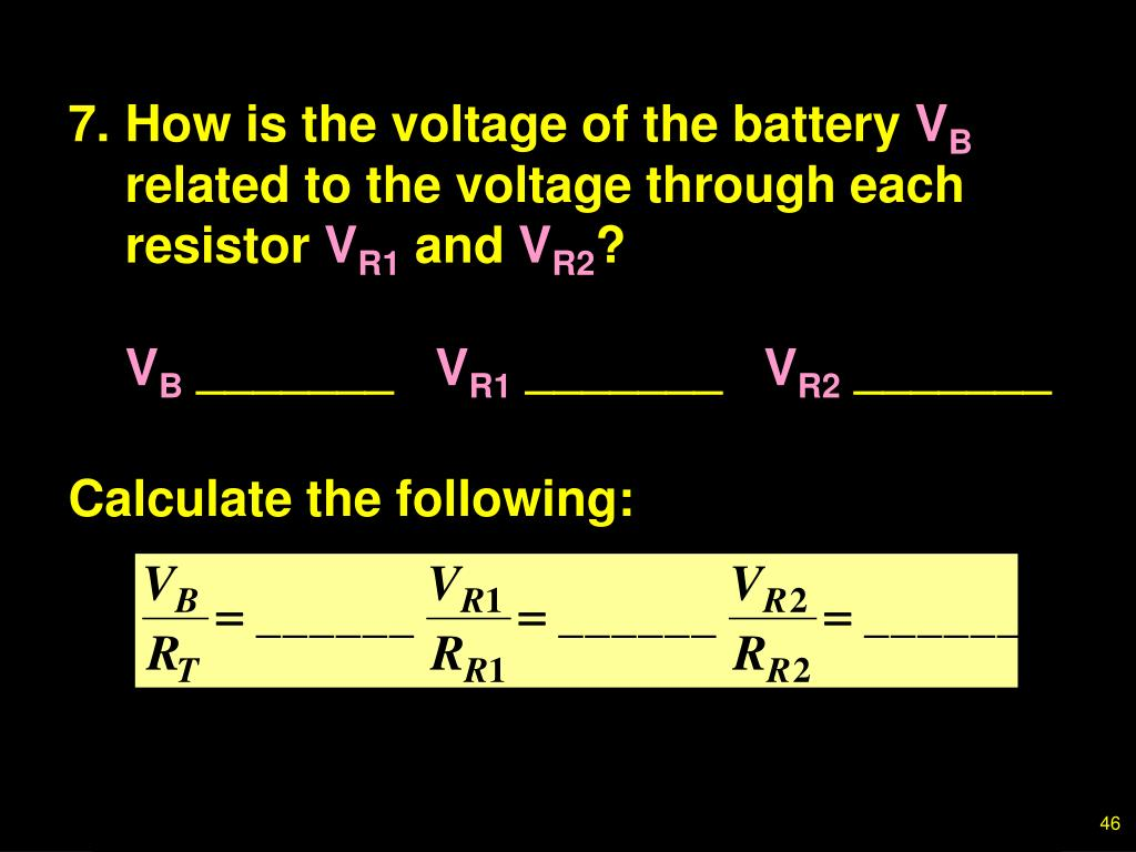 7.How is the voltage of the battery