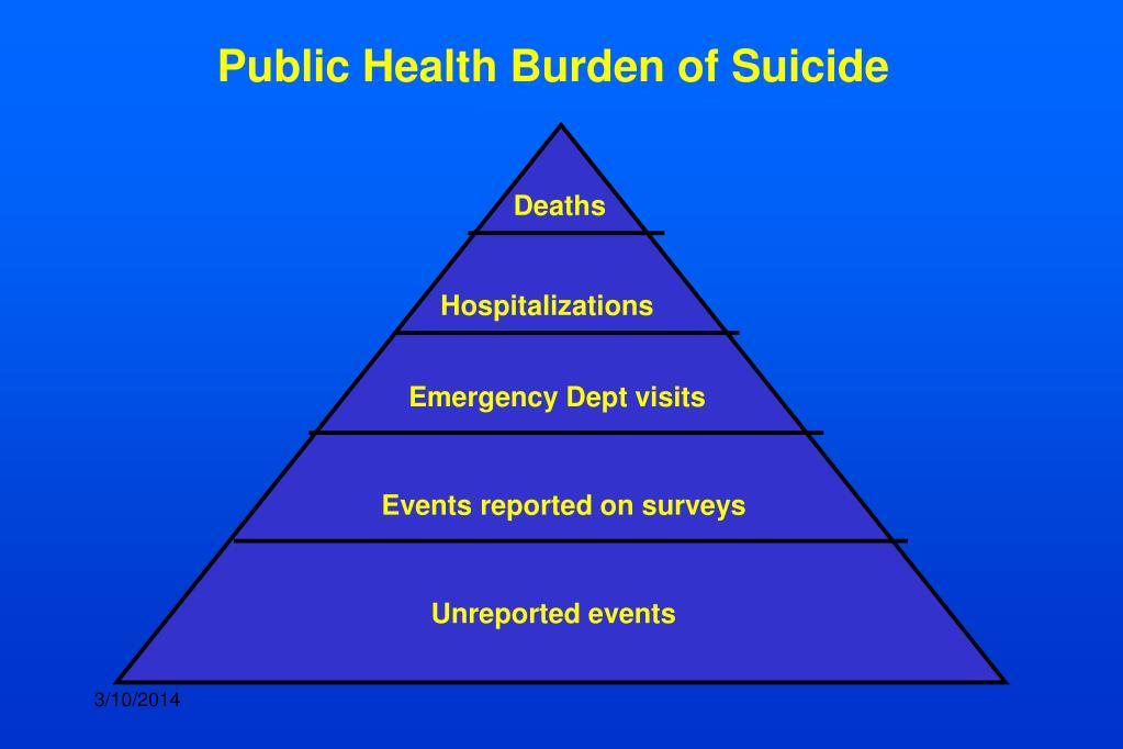 Public Health Burden of Suicide