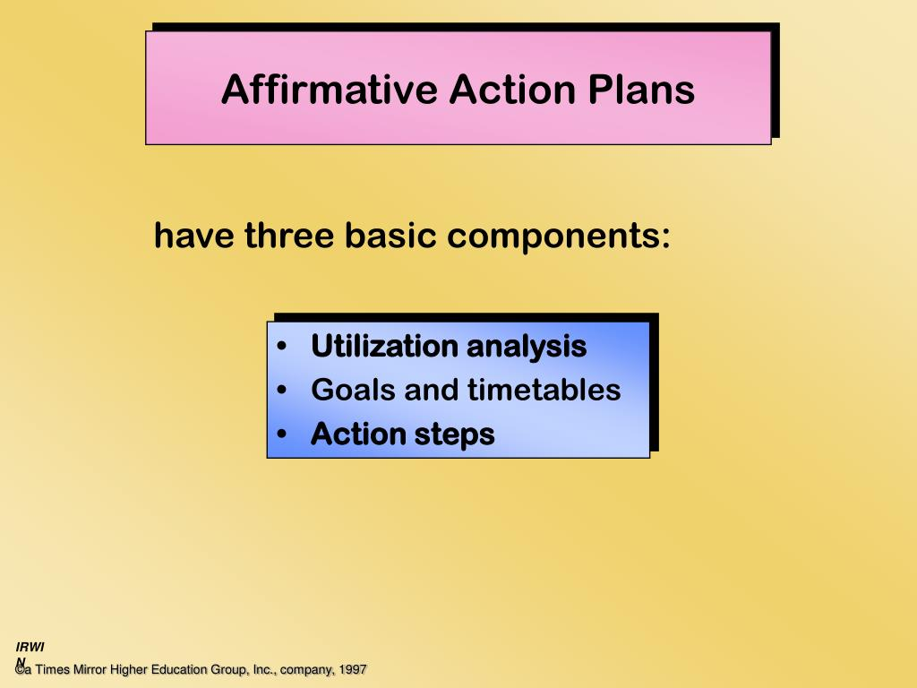 affirmative action alternatives Alternatives to affirmative action issues affecting subpopulations public opinion and other responses to affirmative action race and affirmative action in higher.