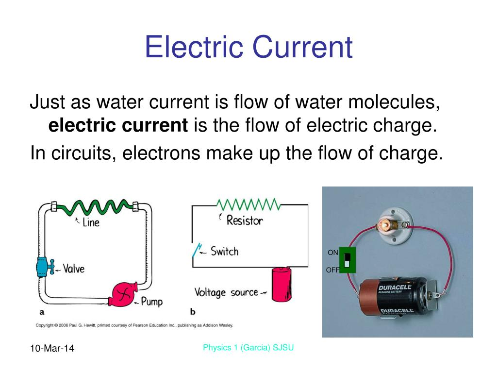 electric current The electric current is given by: i = v / r corresponding units: ampere (a) = volt (v) / ohm (ω) this formula is derived from ohm's law where we have: v: voltage.