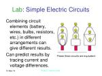 lab simple electric circuits