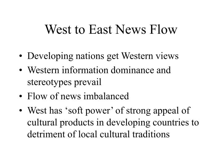 West to East News Flow