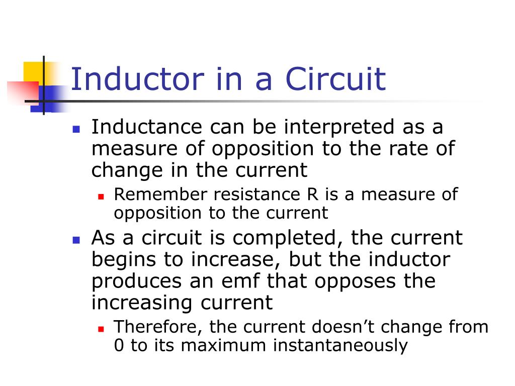 Inductor in a Circuit