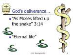 god s deliverance