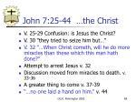 john 7 25 44 the christ
