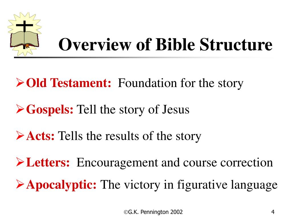 Overview of Bible Structure