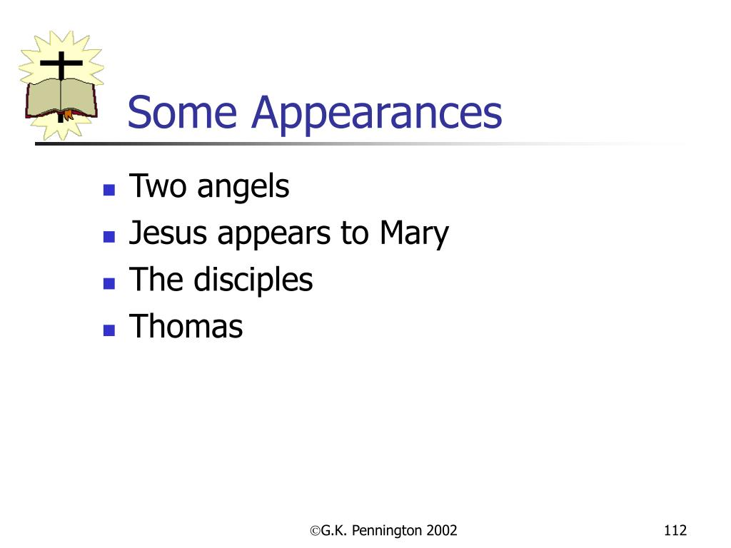Some Appearances