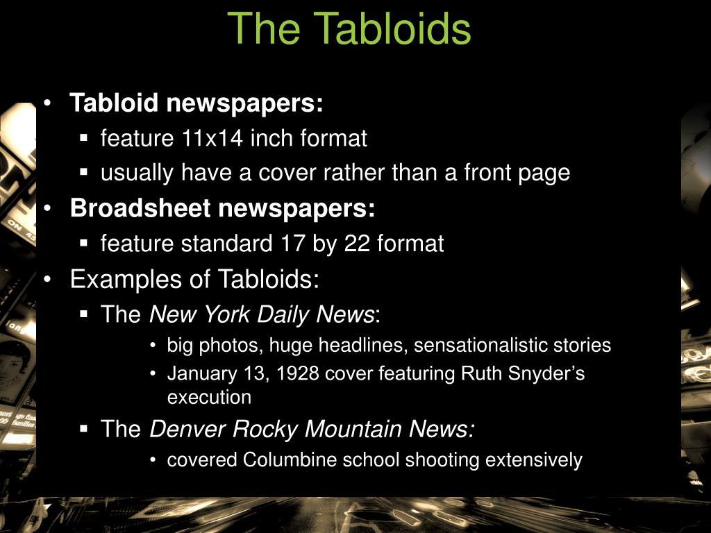 The Tabloids