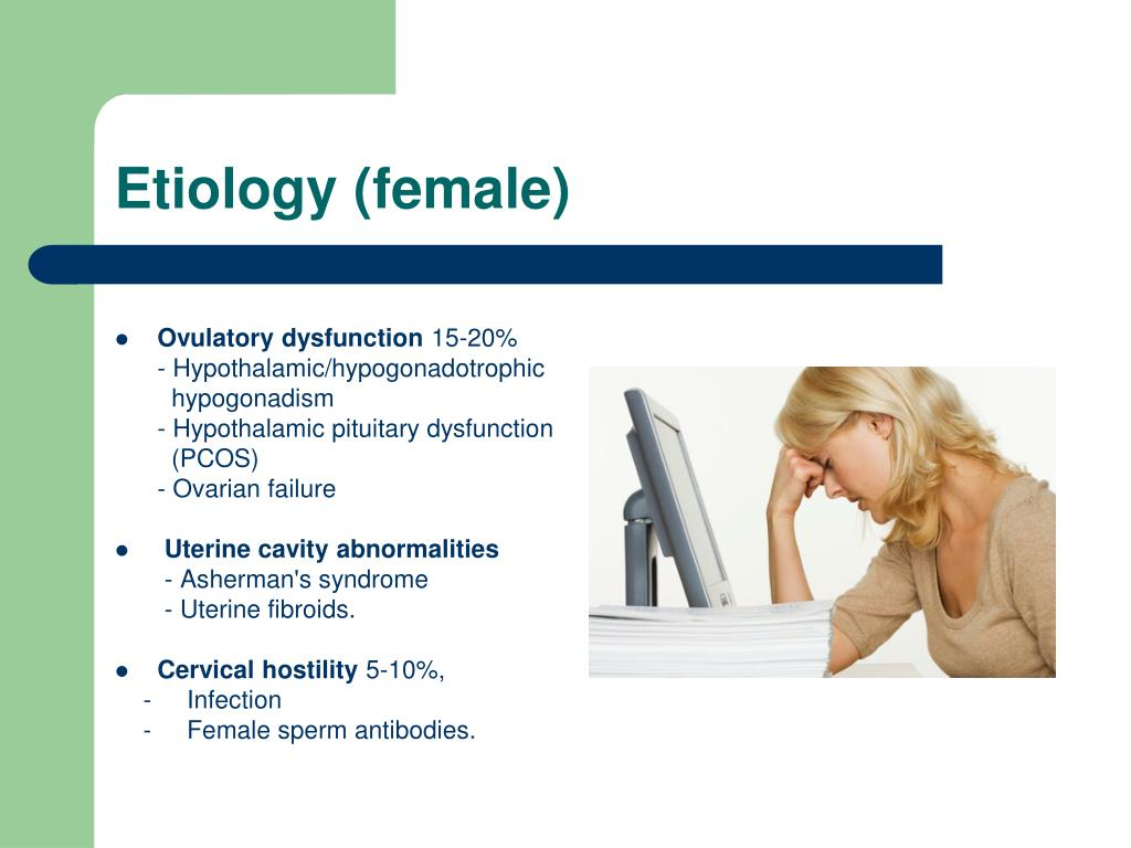 Etiology (female)